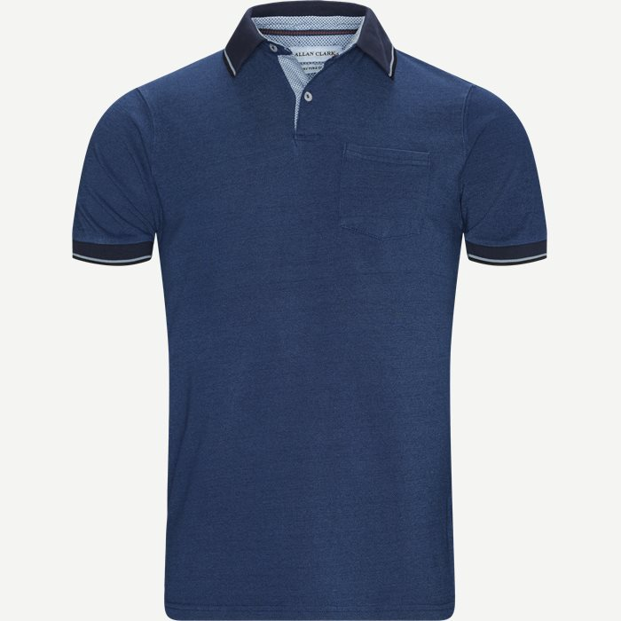 Bahamas Polo T-shirt - T-shirts - Regular - Denim